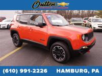 CARFAX One-Owner. 2017 Jeep Renegade Trailhawk 4D Sport