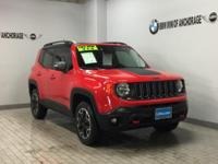 Trailhawk trim. FUEL EFFICIENT 29 MPG Hwy/21 MPG City!