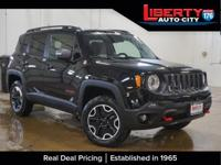 Black Clearcoat 2017 Jeep Renegade Trailhawk 4WD