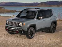 ** 2017 Jeep Renegade in Red Metallic AURORA