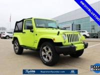 CARFAX One-Owner. Clean CARFAX. Hypergreen Clearcoat