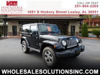 Bold and ready for fun our 2017 Jeep Wrangler Sahara