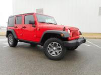 HEATED SEATS, LEATHER, XM RADIO, LOW MILES!!, Wrangler