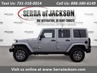 CARFAX One-Owner. Clean CARFAX. Silver 2017 Jeep