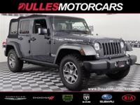 Clean CARFAX. Rhino 2017 Jeep Wrangler Unlimited