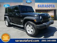 LOCAL JEEP! ONLY 8K MILES! POWER EQUIPMENT! FRESH TRADE