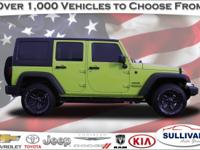 CARFAX ONE OWNER , Wrangler Unlimited Sport, 4WD, Air