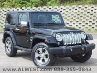 CARFAX One-Owner. Black Clearcoat 2017 Jeep Wrangler