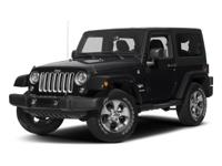 2017 Jeep Wrangler Sahara ABS brakes, Alloy wheels,
