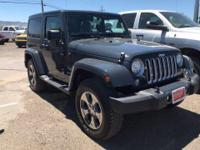 Options:  2017 Jeep Wrangler Sahara 4X4||2 Door|4-Wheel