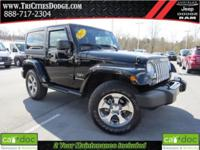 CARFAX One-Owner. Clean CARFAX. Black 2017 Jeep