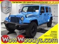Family Friendly! This 2017 Jeep Wrangler Unlimited