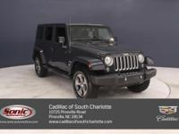 This 2017 Jeep Wrangler Unlimited Sahara comes complete