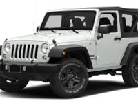 CARFAX One-Owner. Clean CARFAX. White 2017 Jeep