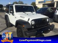 Willys Wheeler trim, Bright White Clearcoat exterior