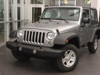 Scores 21 Highway MPG and 17 City MPG! This Jeep