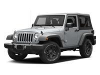 2017 Jeep Wrangler Sport ABS brakes, Compass,