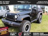 Options: 2017 Jeep Wrangler Sport|Great Add Ons: 2