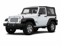 This Jeep won't be on the lot long! There is no