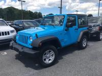 This outstanding example of a 2017 Jeep Wrangler Sport