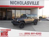 CARFAX One-Owner. Clean CARFAX. Gray 2017 Jeep Wrangler