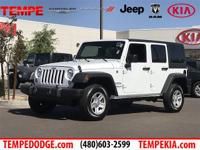 Recent Arrival!Bright White Clearcoat 2017 Jeep