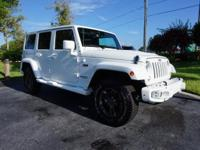 This 2017 Jeep Wrangler Unlimited is featured in White