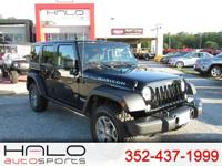 2017 JEEP WRANGLER RUBICON AUTOMATIC POWER PACKAGE WITH
