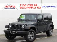 RUBICON * UNLIMITED 4-DOOR * 4X4 * LOCKING FRONT & REAR