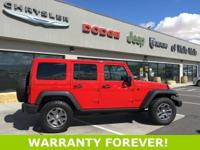 Recent Arrival! 2017 Jeep Wrangler Unlimited Rubicon 4D