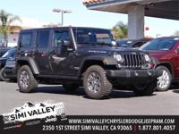 2017 Jeep Wrangler Unlimited Rubicon  Crystal Metallic