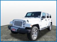 2017 Jeep Wrangler Unlimited Sahara ABS brakes,