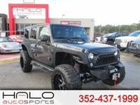 2017 JEEP WRANGLER UNLIMITED HALO EDITION ROUGH COUNTRY