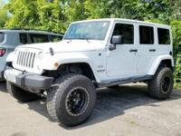 Clean CARFAX. 2017 Jeep Wrangler Unlimited Sahara 4WD