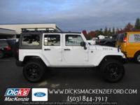 This Jeep won't be on the lot long! A great vehicle and