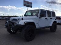 Options:  2017 Jeep Wrangler Unlimited Sahara|Miles: