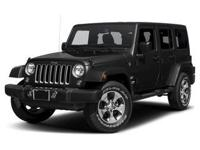 This Jeep won't be on the lot long! Worthy equipment
