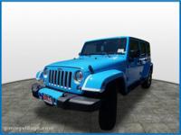 2017 Jeep Wrangler Unlimited Sahara  Options:  18 Inch