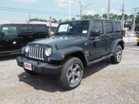 2017 Jeep Wrangler Unlimited Sahara  Options:  18 Inch
