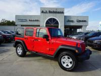 Options:  2017 Jeep Wrangler Unlimited Sport 4Wd|This