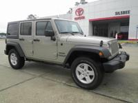 CARFAX One-Owner. Clean CARFAX. Tan 2017 Jeep Wrangler