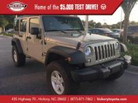 Gobi Clearcoat 2017 Jeep Wrangler Unlimited Sport 4WD