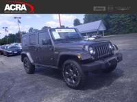 Used 2017 Jeep Wrangler Unlimited, stk # 181126, key