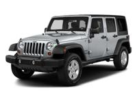 Options:  2017 Jeep Wrangler Unlimited Sport|Engine: