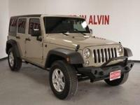 2017 Jeep Wrangler Unlimited Sport. Recent Arrival!