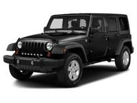 This Jeep won't be on the lot long! Comfortable and