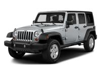 2017 Jeep Wrangler Unlimited Sport ABS brakes, Compass,