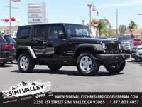Black Clearcoat 2017 Jeep Wrangler Unlimited Sport 4WD