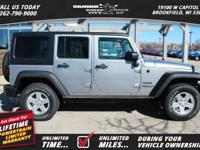 Options:  2017 Jeep Wrangler Unlimited Sport|*Shown