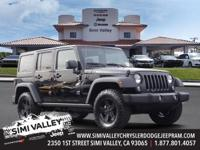2017 Jeep Wrangler Unlimited  Black Clearcoat and ABS